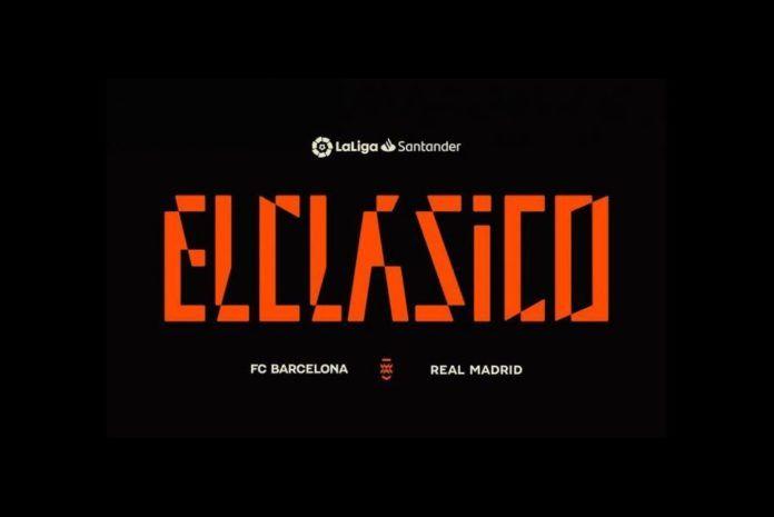 Image: Logo baru El Clasico (LaLiga Santander)