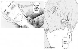 Kata-kata Terakhir Draken Untuk Takemichi menjaga Mikey. (Sumber: Dok. Kodansha US, Tokyo Revengers Chapter 222, edit by Ilham Maulana)