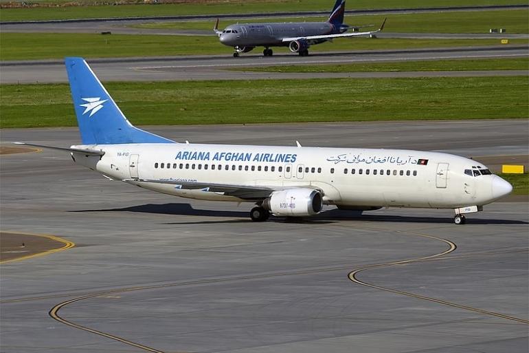 Salah satu pesawat milik Ariana Afghan Airlines. Foto: Anna Zvereva/flickr.com