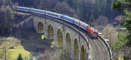 Semmering Railway, berada di Austria. Foto: Fritz Hiersche/dreamstime.com