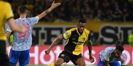 Para pemain Young Boys tak canggung dengan tim raksasa. Sumber: AFP/Fabrice Coffrini/via Kompas.com