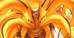 Tampak Naruto mode baryon   (sumber: naruto.fandom.com)