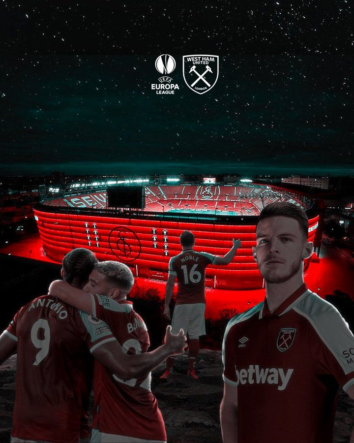 Kampanye West Ham di Europa League (foto: twitter West Ham)