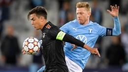Faktor kualitas Malmo membuat Juventus tidak semerana saat melawan Napoli. Sumber: via Uefa.com