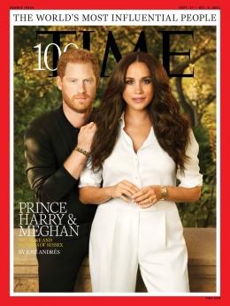 Harry dan Meghan (Sumber: time.com)