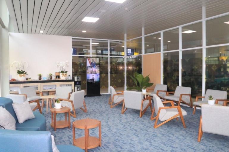 Ruang tunggu Stasiun Bandara YIA. (Sumber: Dokumentasi KAI)