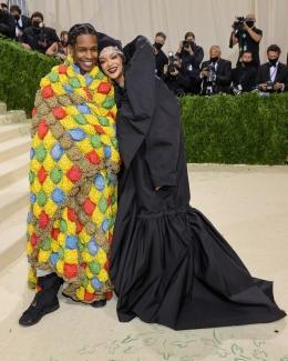 ASAP Rocky dan Rihanna|Sumber gambar : Vanityfair
