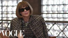 Anna Wintour. Sumber: YouTube/Vogue