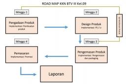 Gambar Roadmap Kegiatan/dokpri