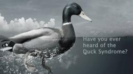 Ilustrasi duck syndrome   sumber: vimeo.com
