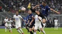 Inter agresif di babak pertama saat menjamu Real Madrid. Sumber: AP/Antonio Calanni/via Detik.com