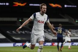 Penyerang Tottenham, Harry Kane akan beradu tajam dengan penyerang Chelsea Romelu Lukaku di pekan ke-5 EPL (sumber : kompas.com)