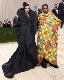Rihanna and ASAP Rocky attend the 2021 Met Gala benefit on September 13, 2021 in New York City. Taylor Hill/WireImage (globalnews.ca)