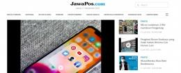Laman Kategori Multimedia di Portal Bertia JawaPos. Sumber: jawapos.com