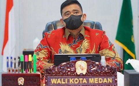 Bobby Nasiton Walikota Medan Sumatera Utara (instagram.com/bobbynst)