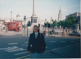 the Red bus ciri khas transportasi di London (dok pri )