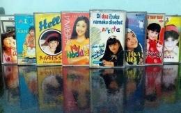 Deretan Kaset Tape Genre Lagu Anak. Sumber Jawa Post