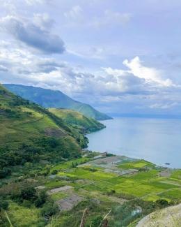 Danau Toba dari Pusuk Buhit (Instagram/Samosir_indah)