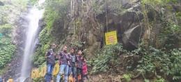 Sugoi chapter jombang sunmori ke wisata air terjun dlundung,trawas ,jatim/dokpri