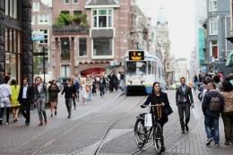 Ilustrasi kehidupan sehari-hari di Amsterdam. Foto: Lucky Fransiska/Kompas.com