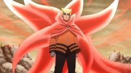 Naruto dalam mode Baryon Vs Isshiki Otsutsuki, Boruto episode 217. (Sumber: naruto.fandom.com)