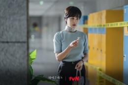 Song Yeo Wool, tokoh utama 'High Class' menyelidiki teror yang ia alami