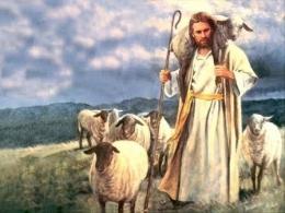 Ilustrasi Anak Domba Allah (sumber: KomKat.KWI.org)