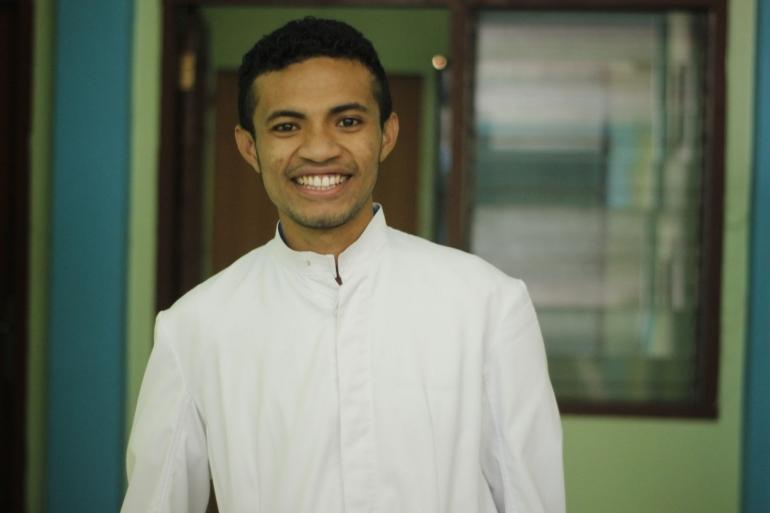 dok.pribadi : Frater Joni Lae, Frater TOP Paroki Santa Filomena Mena Keuskupan Atambua, Kabupaten TTU