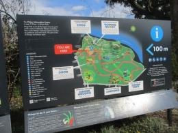 Peta Lokasi Kings Park (dok pribadi)