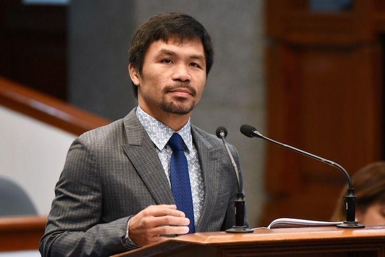 Petinju legendaris asal Filipina, Manny Pacquiao. (sumber: UCA News via kompas.com)