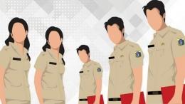Pegawai Negeri Sipil sebagai perantara pelayanan masyarakat dan pemerintah (sumber: jojonomic.com)