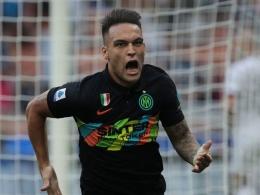 Lautaro Martinez. (via Getty Images)