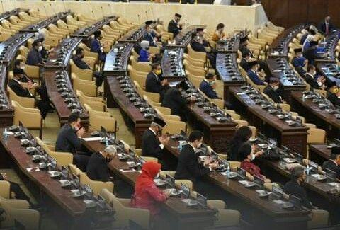Ilustrasi Gedung Dewan Perwakilan Rakyat (Instagram.com/mncnews)