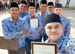 Upacara Bendera di Lingkungan Institut Agama Kristen Negeri (IAKN) Kupang (Dokumentasi Pribadi)