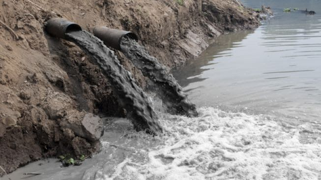 Pencemaran air (sumber: shutterstock.com)