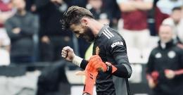 De Gea Menyelamatkan Manchester United dari kekalahan melawan West Ham United (9/19/2021). Sumber: https://twitter.com/ManUtd