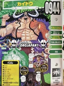 Vivre Card terbaru One Piece menceritakan pertarungan Shanks vs Kaido. (Sumber: Greenscene)