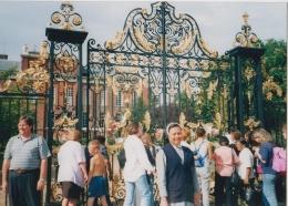 Di depan Gerbang Kensington Palace ( dokpri )