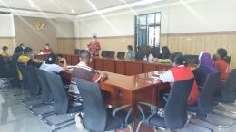 Suasana Pertemuan ruang rapat Balai Anak Naibonat Kupang(DokPri)