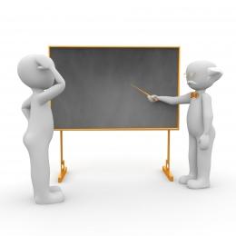 Ilustrasi model pembelajaran satu arah | Sumber: Pixabay