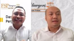 Kiri: Tarsisius Agusto Naur, SH. Kanan: Adhiguna A. Herwindha, SH., MH., LL.M. dari FSP Lawyers (Konsultan dan Partner Hukum Yayasan Tarakanita)/dokpri