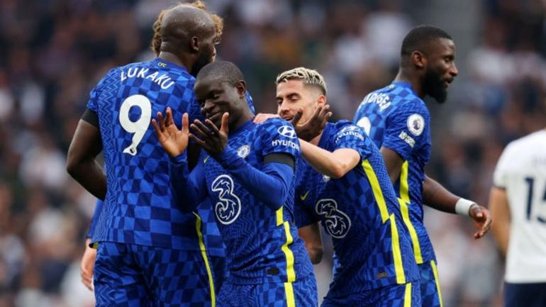 Romelu Lukaku tidak mencetak gol ketika melakukan laga derby di London. Namun Chelsea menang 3-0 atas Tottenham (Foto Skysports)