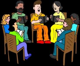 Ilustrasi berdiskusi, metode belajar pada sekolah mula-mula) | Sumber: Pixabay