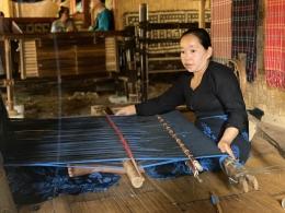 Penenun kain tradisional Baduy/Dokumen Pribadi