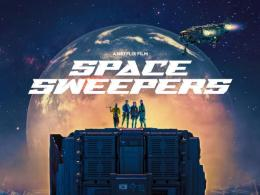 Poster Film Netflix Space Sweepers (2021). Sumber: popmachinemedia.com