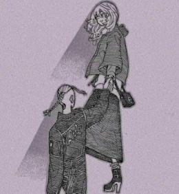 Draken yang melihat bayangan Emma Sano di Tokyo Revengers Chapter 223. (Sumber: Twitter @manjiesrou)