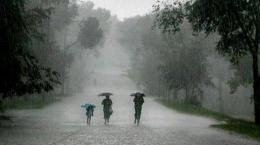 Hujan | Sumber : tribunnews.com