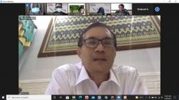 Pemaparan materi oleh Prof. Dr. Haryono, M.Pd., BPIP Republik Indonesia