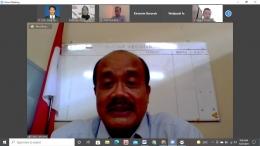 Pemaparan materi oleh Dr. Didik Sukriono, M.Hum.