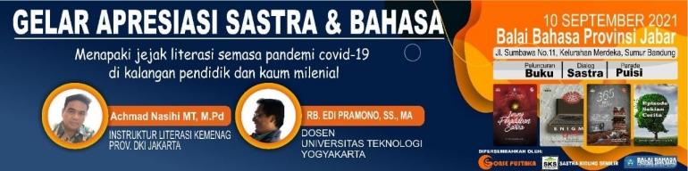 Gelar Apresiasi Sastra & Bahasa/Dokpri